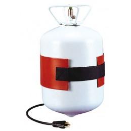 Ceinture chauffante pour bouteille de gaz