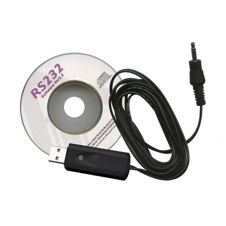 CD d'enregistrement de données et cable USB