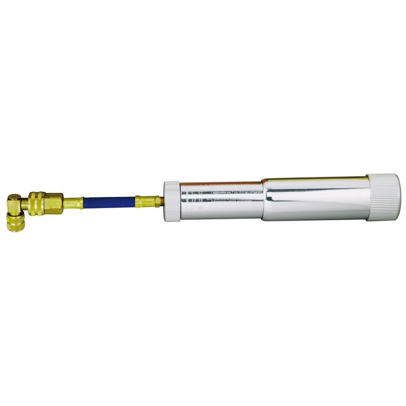 Injecteur rechargeable pour huile et colorant