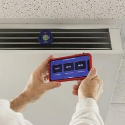 Thermomètre - hygromètre numérique bluetooth Mastercool-5