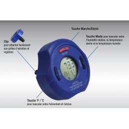 Thermomètre - hygromètre numérique bluetooth fonctions