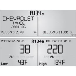 Manifold numérique pour clim auto Mastercool afficheur
