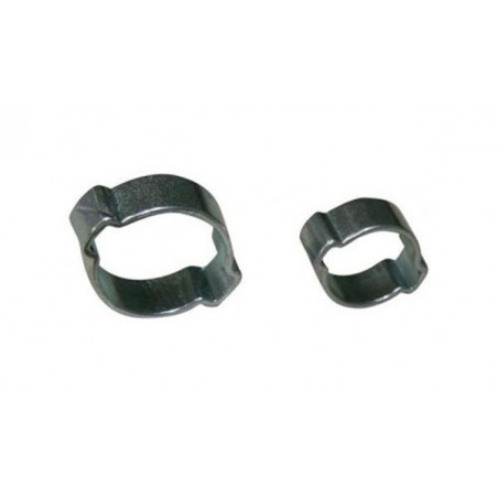 Colliers inox 6.3 mm - 2 oreilles