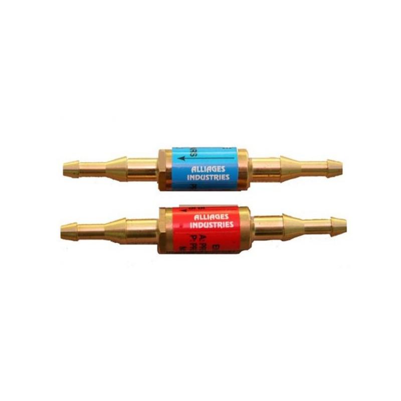 Clapets anti-retour oxygène / acétylène