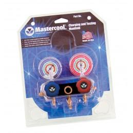 Manifold 2 voies R22-R422A-R422D-R417A-R427A Mastercool blister
