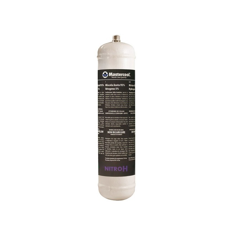Bouteille d'azote hydrogéné 1 litre x 6