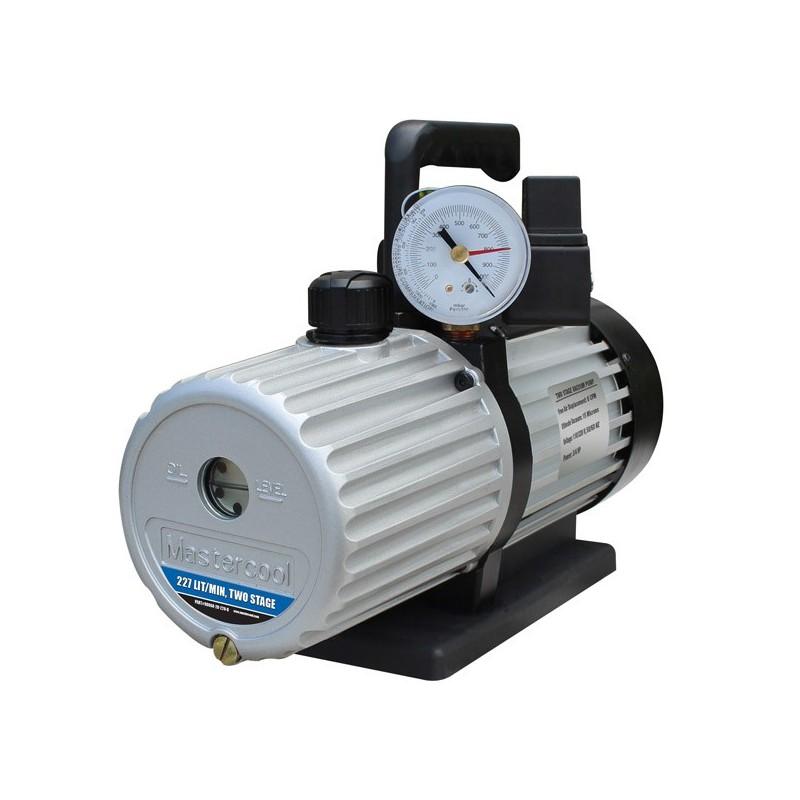 Pompe à vide double étage avec électrovanne 189 l/min