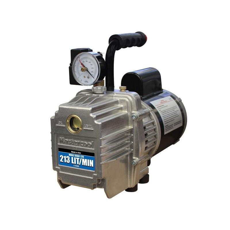 Pompe à vide double étage avec électrovanne 178 l/min