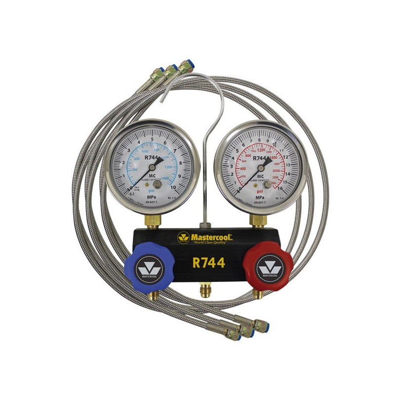 Manifold pour réfrigérant R744 (CO2) Mastercool